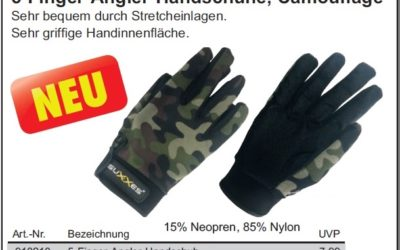 Camouflage – Anglerhandschuh